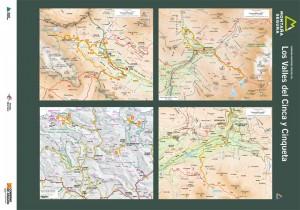 Folleto de excursiones por los valles de Cinca y Cinqueta. Montaña Segura