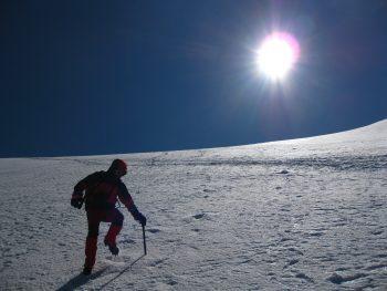 Progresión en montaña invernal