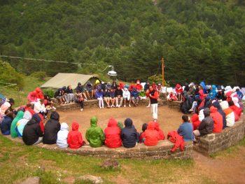 Campamentos con seguirdad