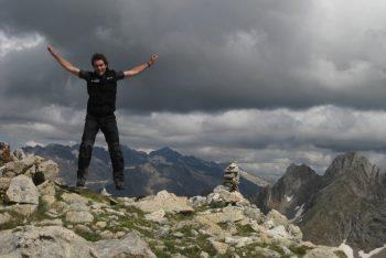 Tormentas en montaña