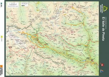 Folleto de excursiones por el valle de Pineta. Montaña Segura