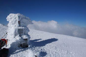 Cima del Moncayo en invierno