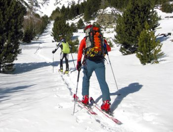 Informarse cuando hay nieve en la montaña