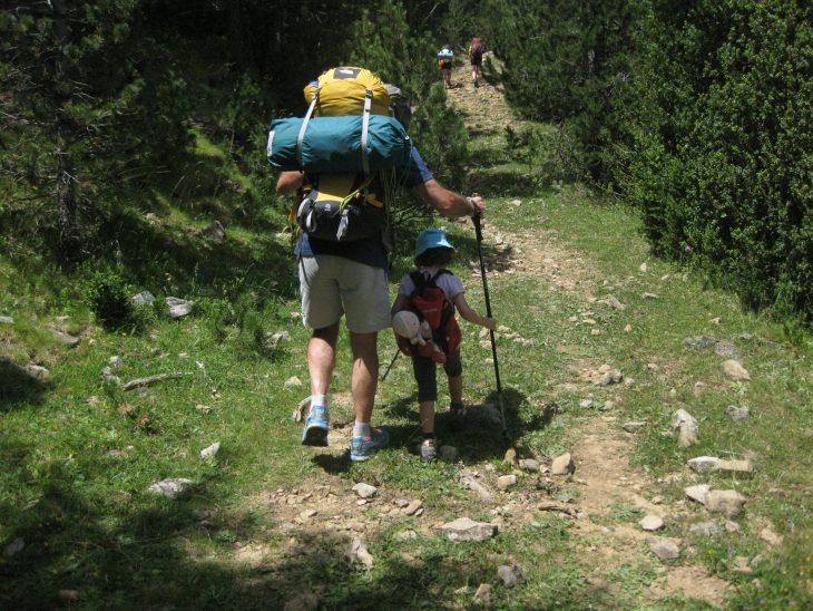 Senderos en Aragón para recorrer con niños