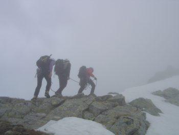 Guías de montaña y niebla