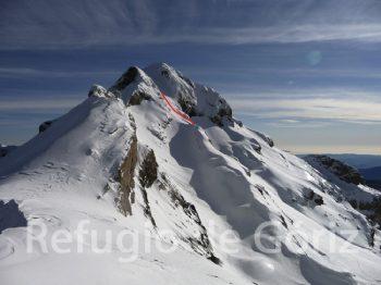 Monte Perdido. Foto Refugio de Góriz