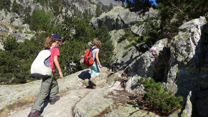 A la montaña con niños