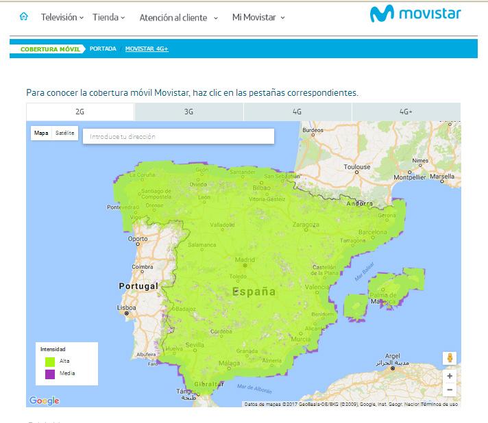 Mapa De Cobertura Vodafone.Mapa De Coberturas 2g Montana Segura