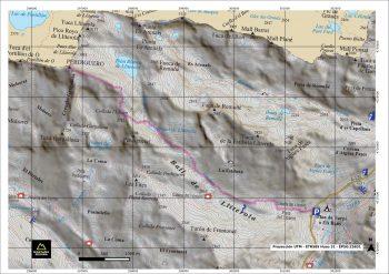mapa excursionista