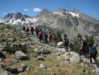 Campamentos en la montaña