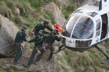 Rescate en montaña - Guardia Civil de Montaña