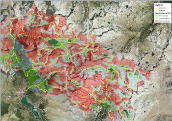 Cartografía ATES en el macizo de Infiernos