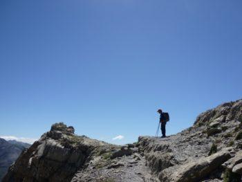 Seguimiento de montañero solitario