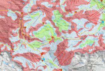 Cartografia ATES del macizo del Posets