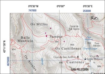 Coordenadas del mapa