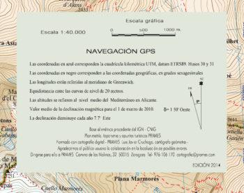 Otras informaciones del mapa