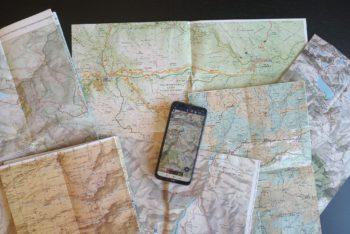 El mapa excursionista