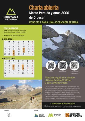 Charlas para ascender con seguridad al Monte Perdido 2020