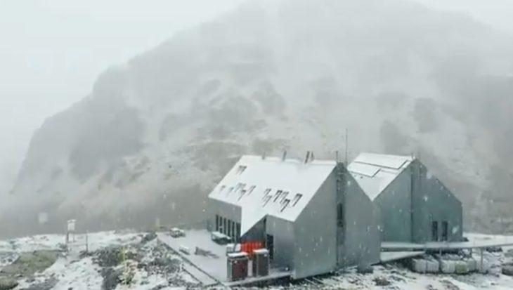 29 de agosto de 2020. Nevando en el Refugio Cap de Llauset