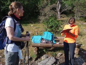 Encuestas 2020 a senderistas en el Pirineo Aragonés