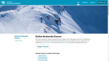 Guía sobre avalanchas para principiantes - Avalanche Advisory