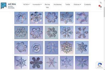 Geometría de los copos de Nieve. ACNA