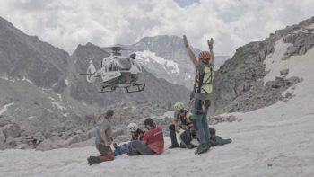 Rescate en alta montaña. Imagen del programa Rescate – RTVE
