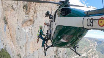 Rescates en Aragón. Imagen del programa Rescate – RTVE