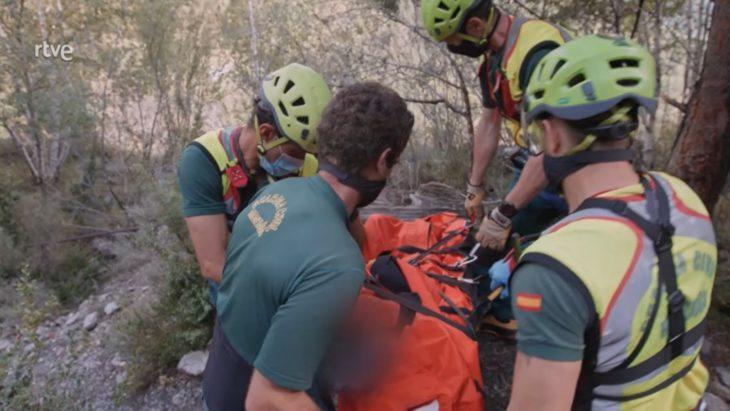 Rescate en senderismo. Imagen del programa Rescate – RTVE