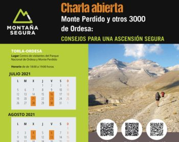 Monte Perdido con seguridad 2021